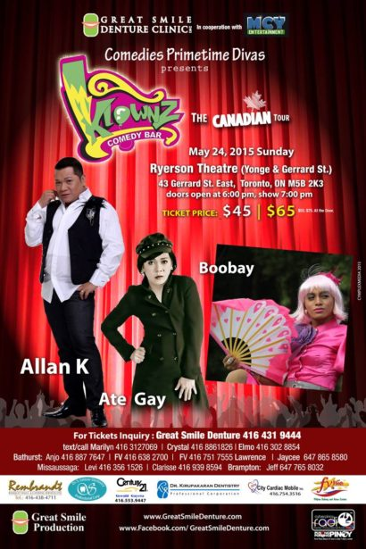 Klownz Comedy Bar Canadian Tour 2015 Live in Vancouver